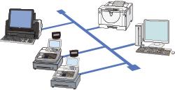 分散処理のイメージ図
